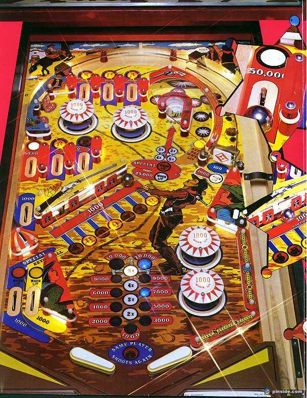 sharpshooter pinball machine for sale
