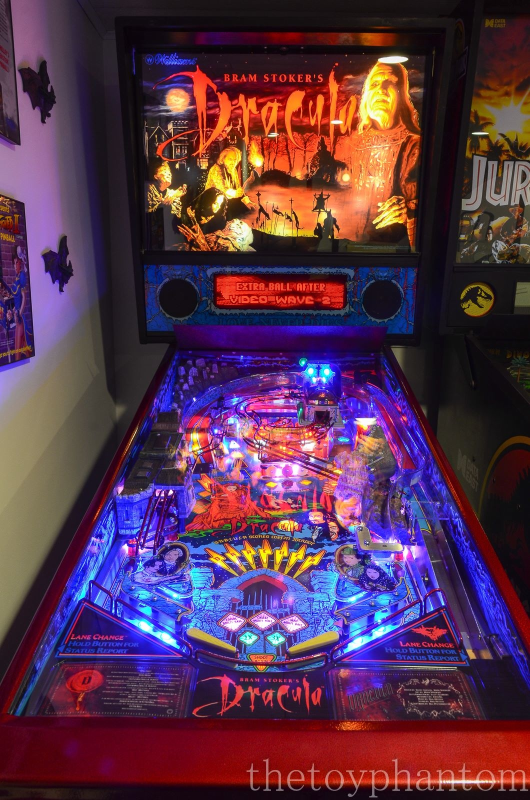 Bram Stoker S Dracula Pinball Machine Williams 1993