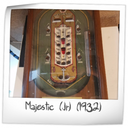 Majestic (Jr) Pinball Machine (Gottlieb, 1932) | Pinside