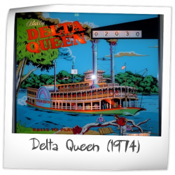 Delta Queen Backglass