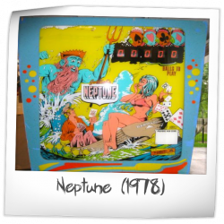 Neptune Back glass & Cabinet Head