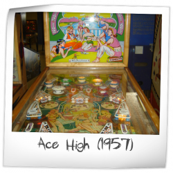 Ace High Pinball Machine (Gottlieb, 1957)   Pinside Game Archive