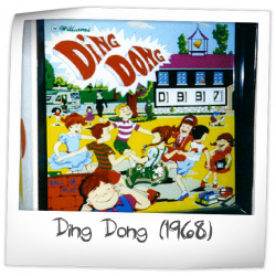 Ding Dong Pinball Machine (Williams, 1968) - Pinside Game ...