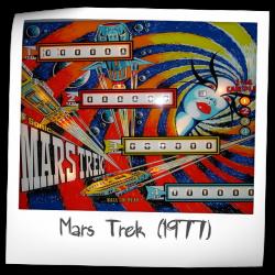 Mars Trek Pinball Machine (Segasa-Sonic, 1977) | Pinside