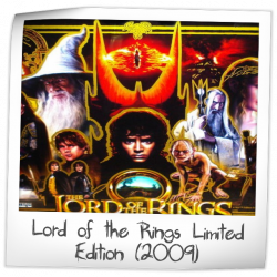 Lord of the Rings Limited Edition Pinball Machine (Stern ...