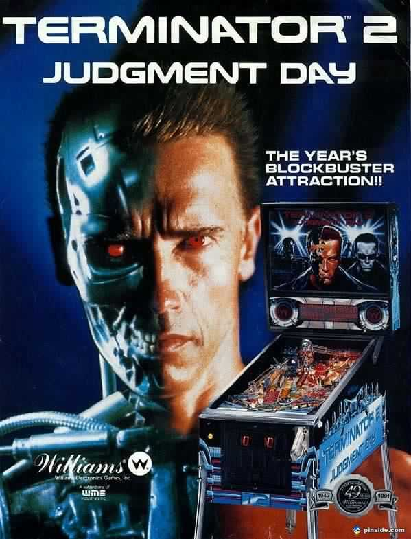 Software Terminator 2 Pinball Pc Game