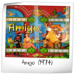 best cheap latest design famous brand Amigo Pinball Machine (Bally, 1974)   Pinside Game Archive