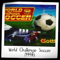 World Challenge Soccer backglass!