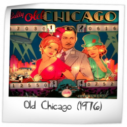 Old Chicago (1976) Backglass