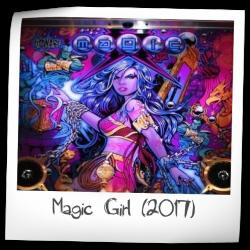 Magic Girl Pinball Machine (Zidware Pinball USA, 2017