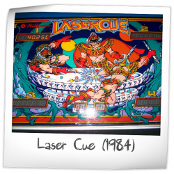 Laser Cue Pinball Machine Williams 1984 Reviews And Ratings Pinside Game Archive