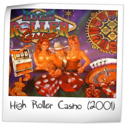 high roller casino pinball value