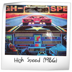 High Speed Pinball Machine Williams 1986 Reviews And Ratings Pinside Game Archive