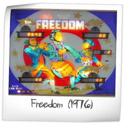 get cheap best website new arrive Freedom Pinball Machine (Bally, 1976) | Pinside Game Archive