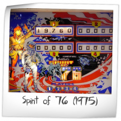 Spirit Of 76 Pinball Machine Gottlieb 1975 Reviews And Ratings Pinside Game Archive