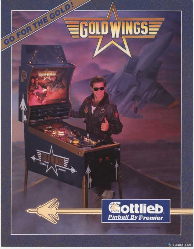 Gold Wings Pinball Machine (Gottlieb, 1986) | Pinside Game Archive